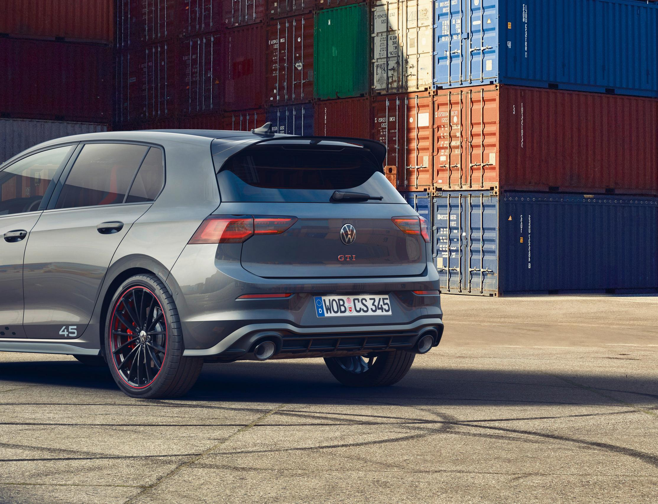VW Golf 8 GTI Clubsport 45 rear