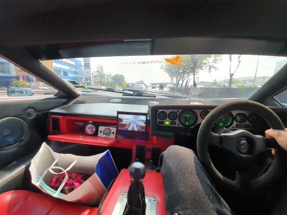 Lamborghini Countach Replica cabin