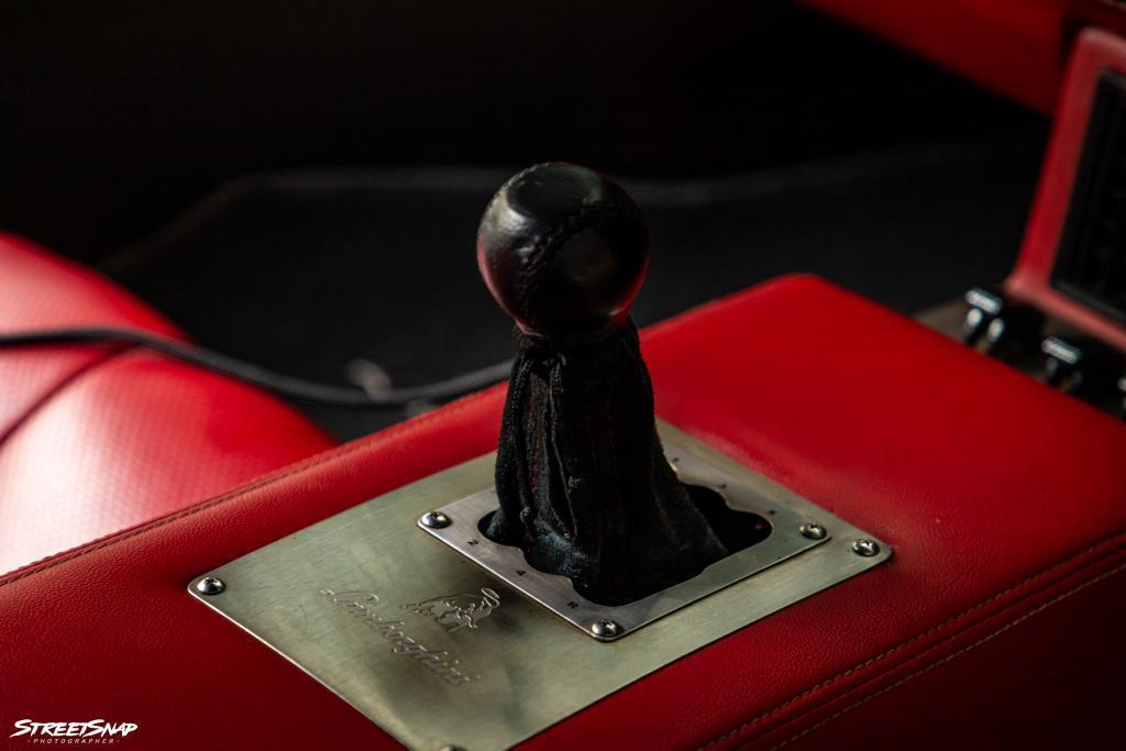Lamborghini Countach Replica gearbox