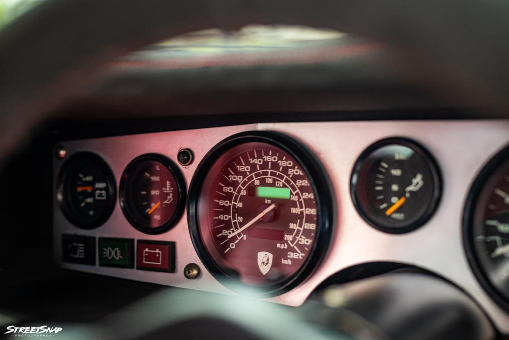 Lamborghini Countach Replica speedo