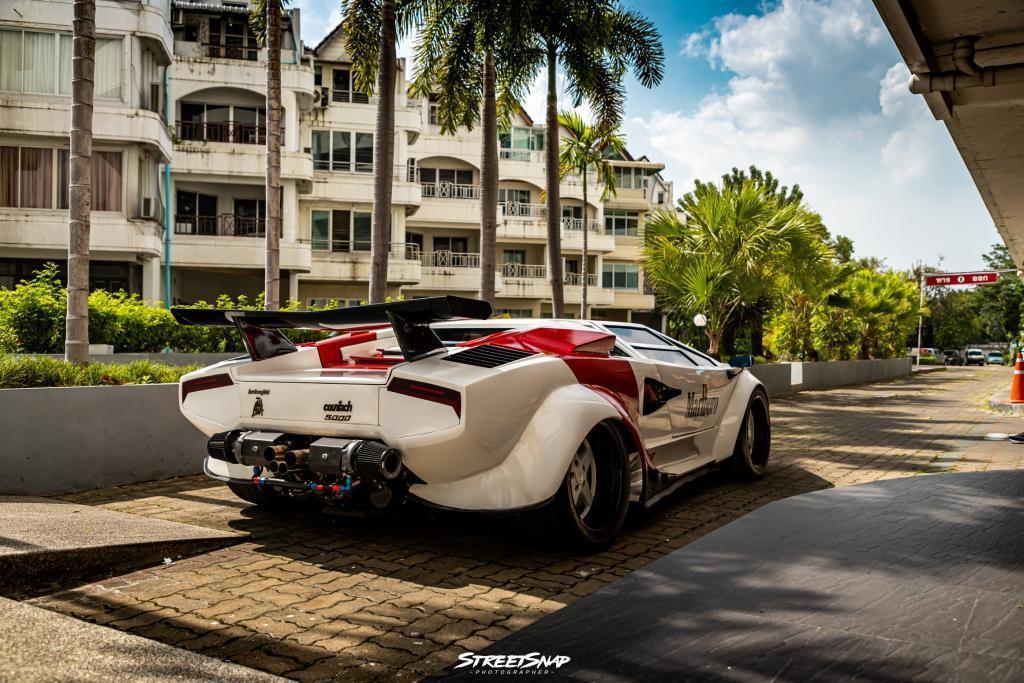 Lamborghini Countach Replica thai