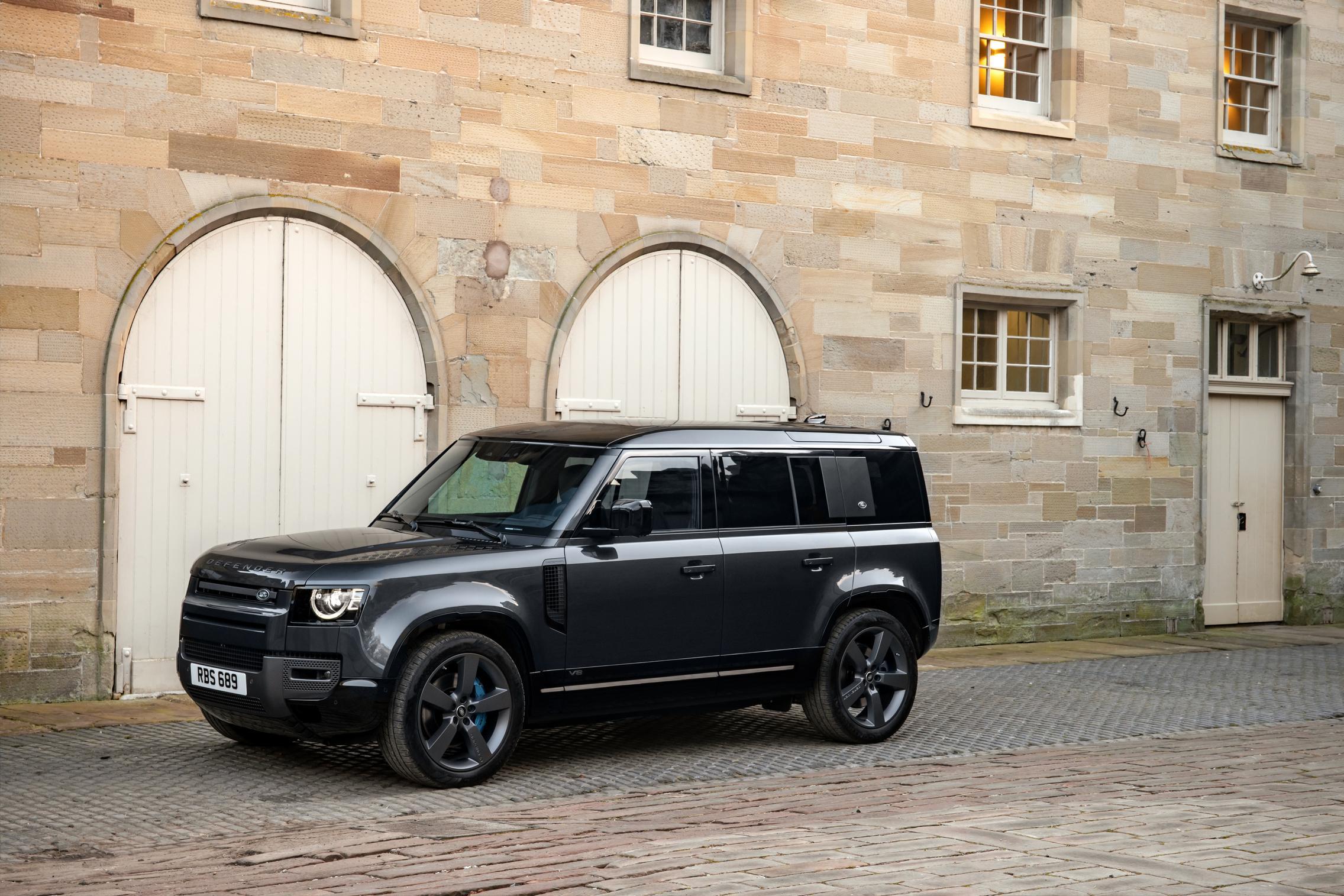 Land Rover Defender 110 V8 price