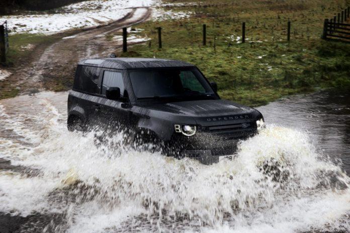 Land Rover Defender 90 V8 off road
