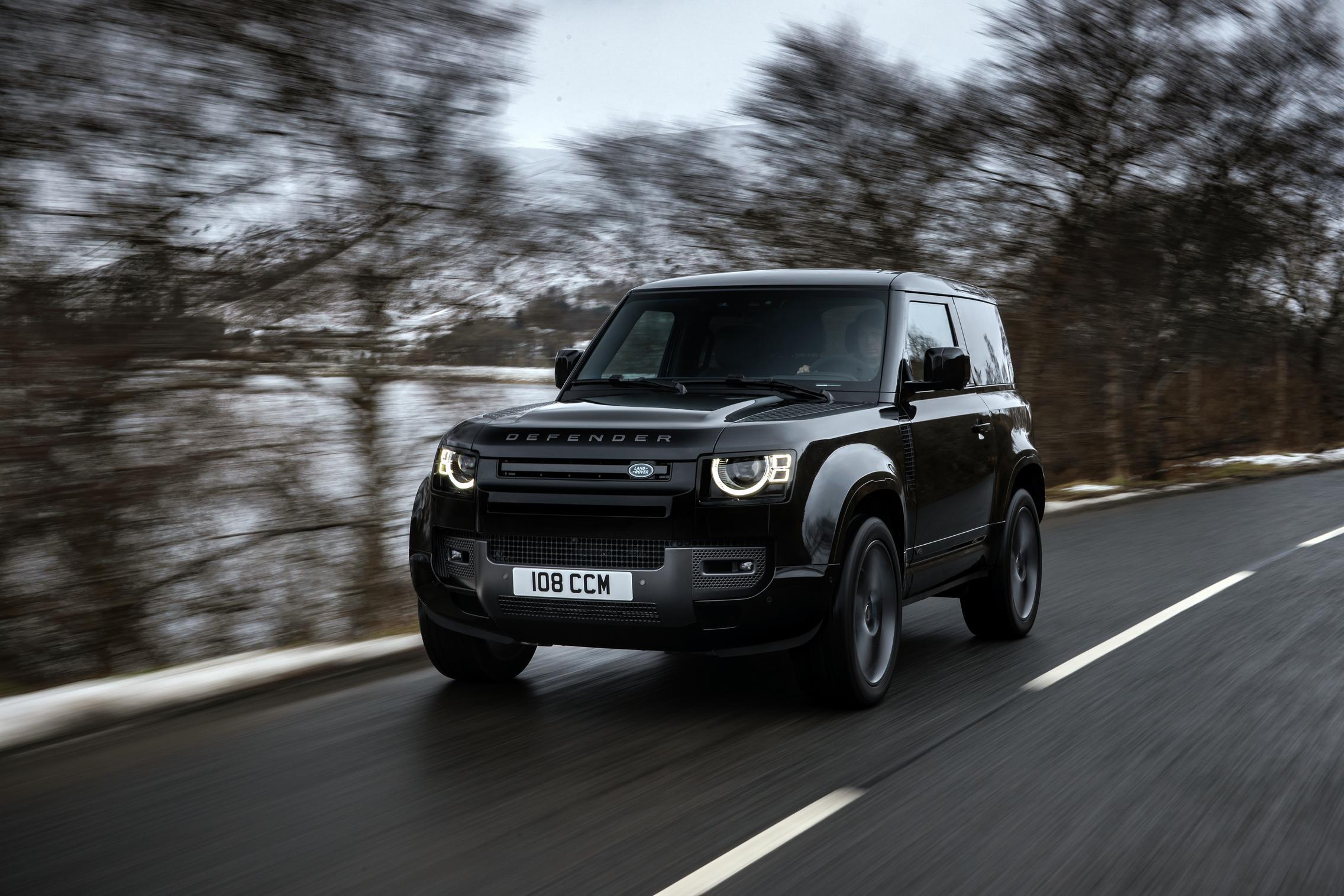 Land Rover Defender 90 V8 price