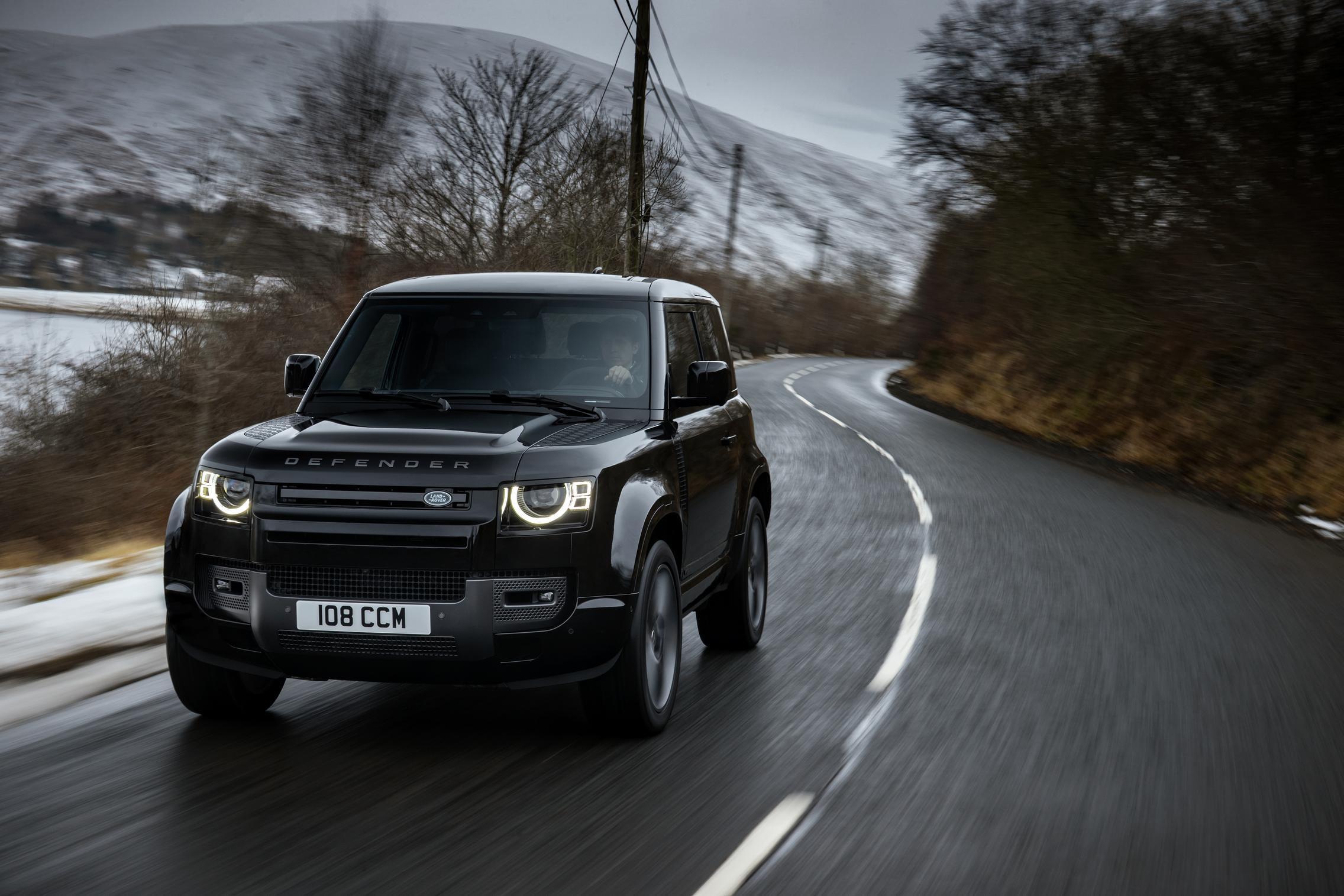 Land Rover Defender 90 V8 specs