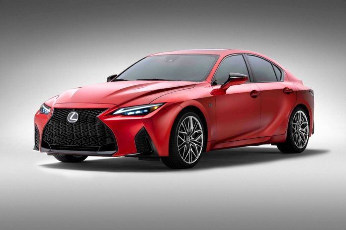 2022 Lexus IS 500 F Sport Performance: a V8 is Still Available