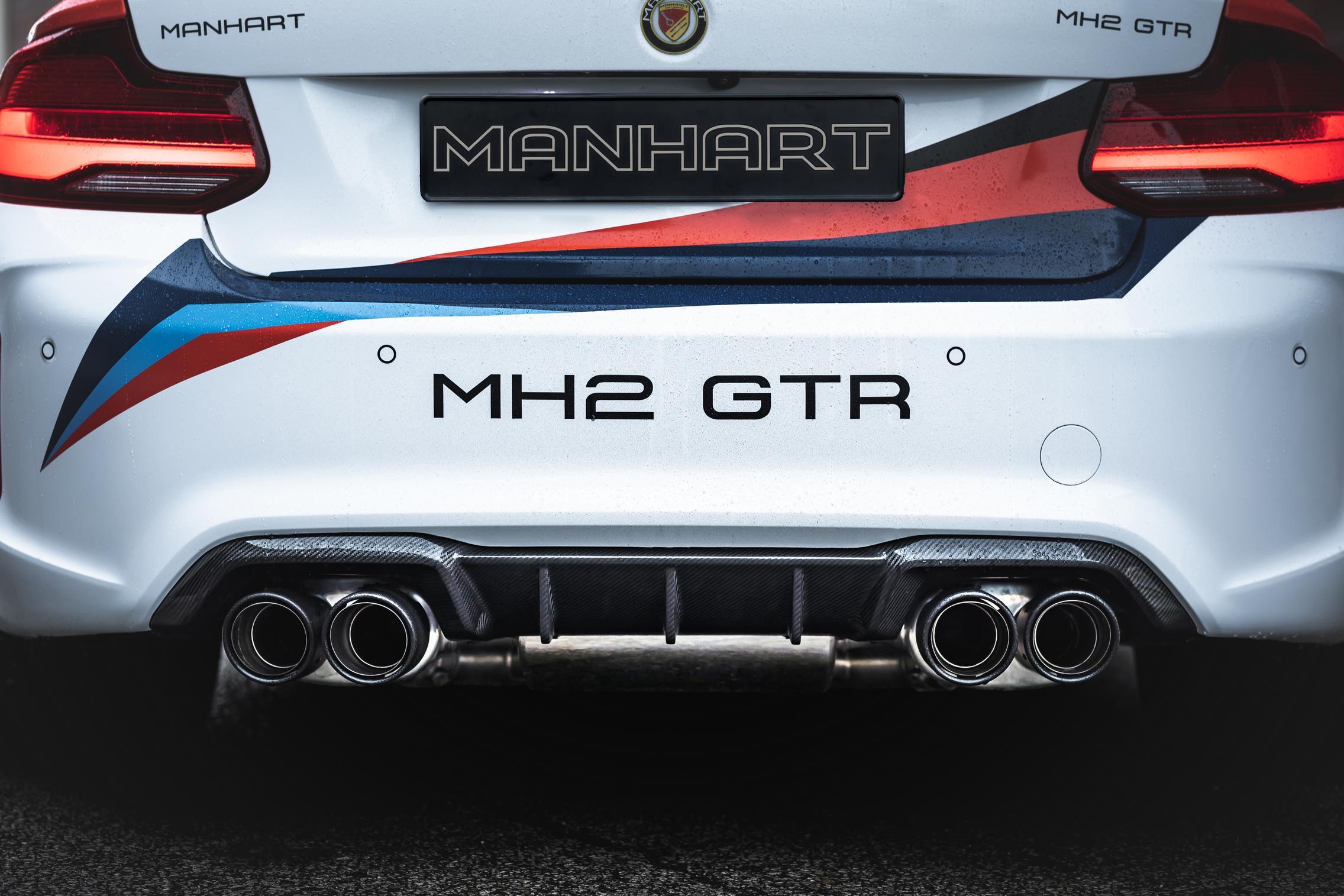Manhart BMW M2 CS rear lights