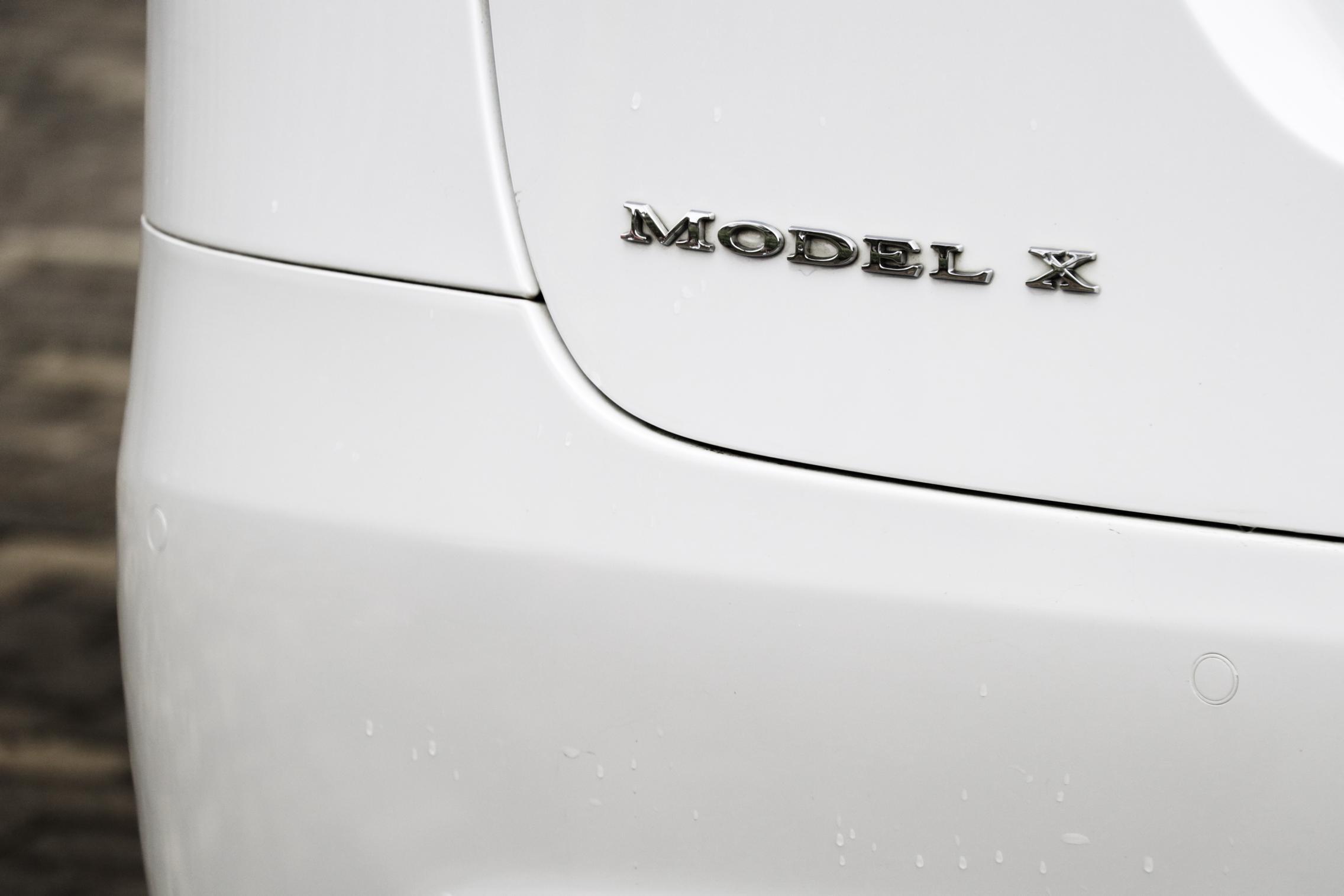 Model X Badge