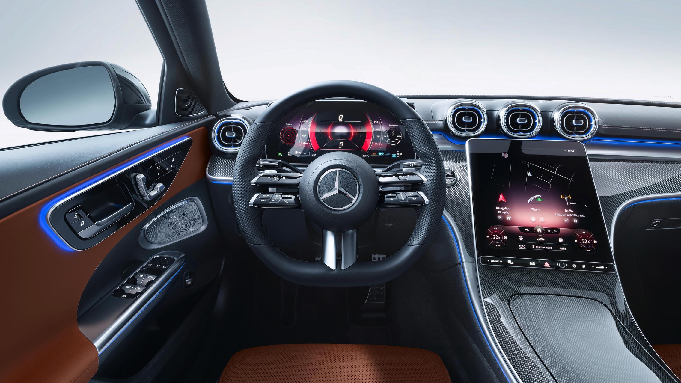 New-W206-C-Class-Interior