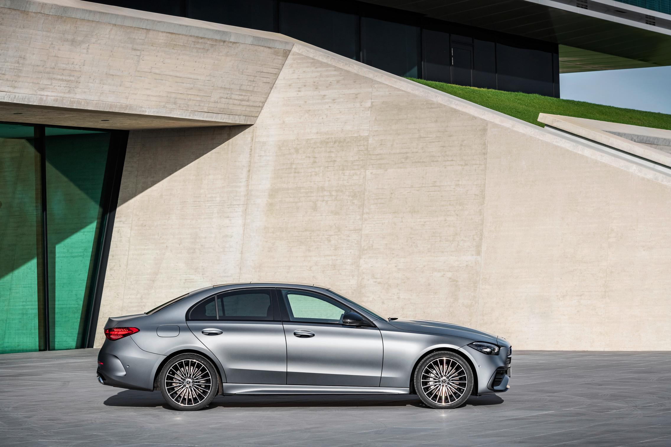 New-W206-C-Class-grey