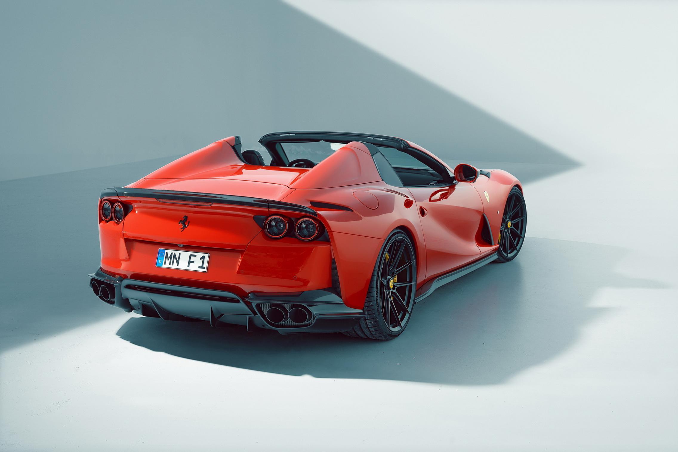 Novitec Ferrari 812 GTS exhaust