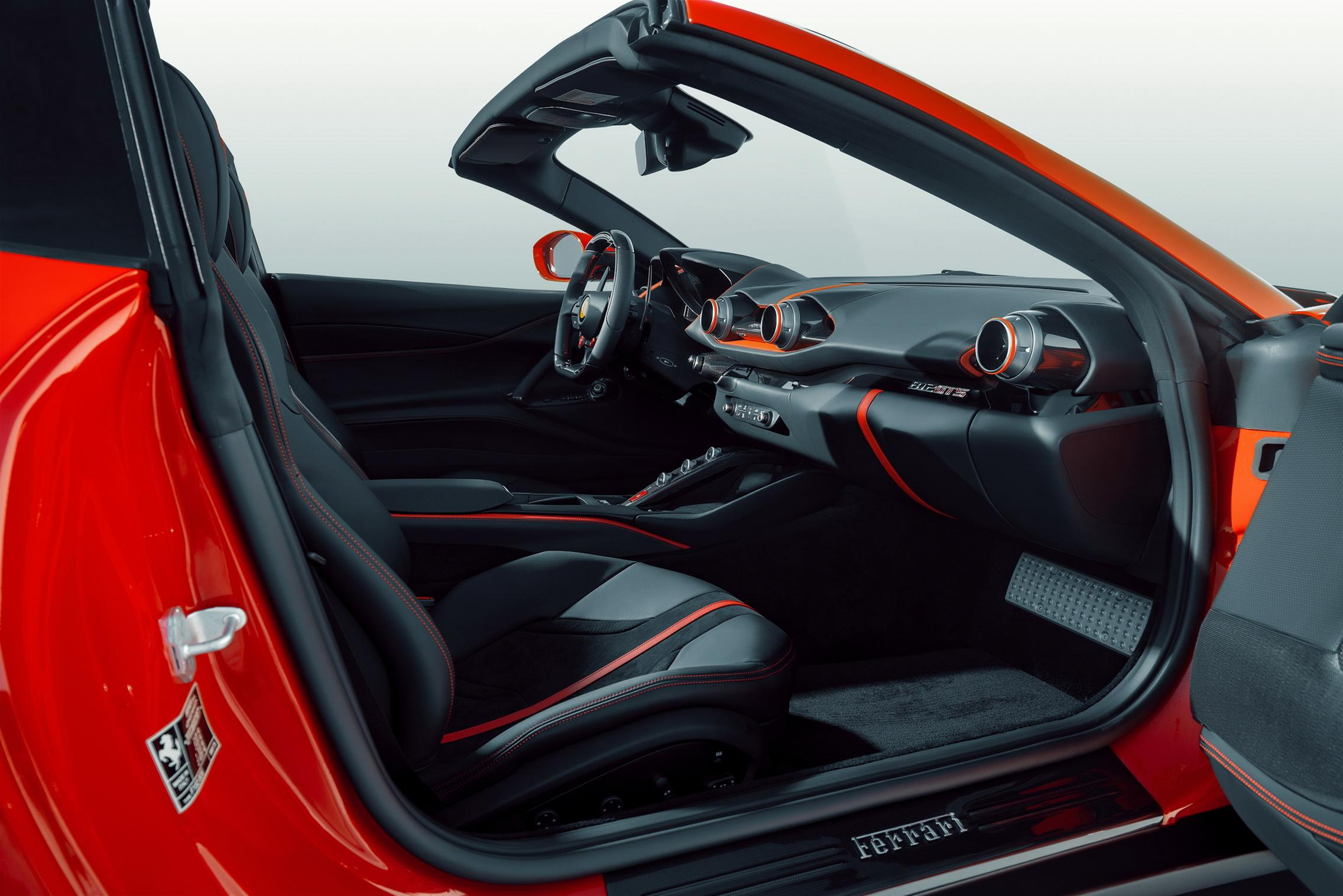 Novitec Ferrari 812 GTS interior