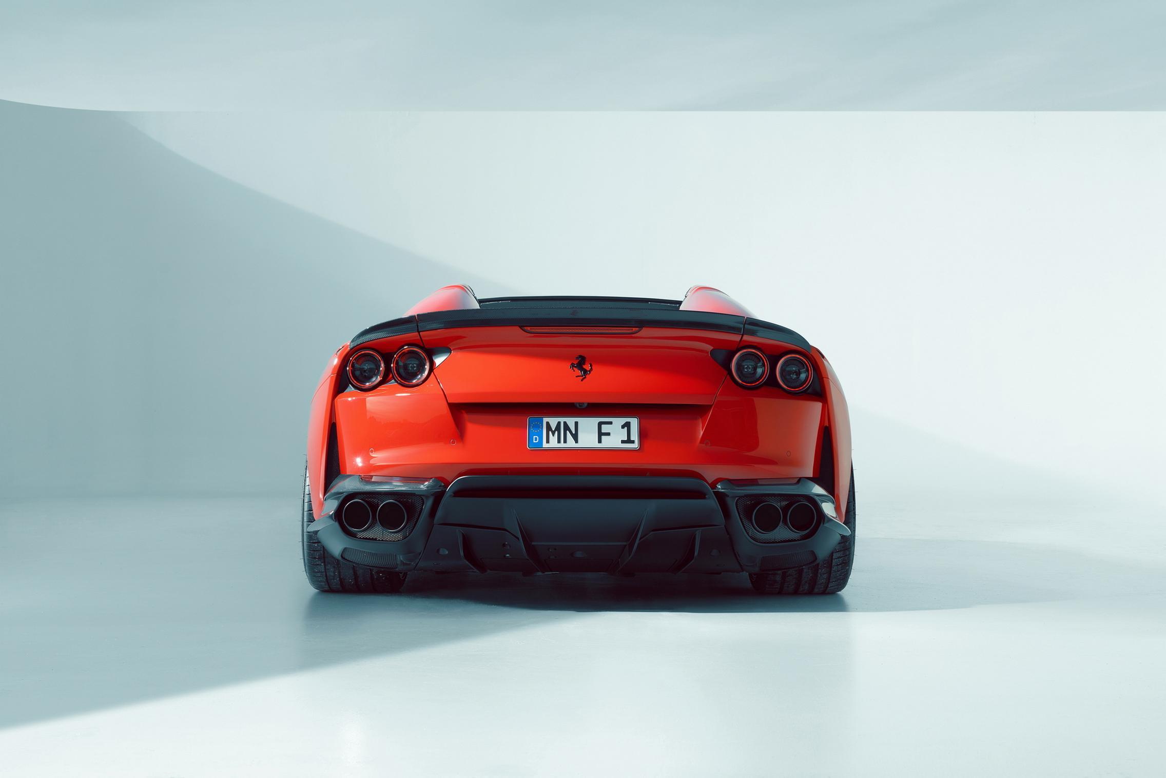 Novitec Ferrari 812 GTS rear