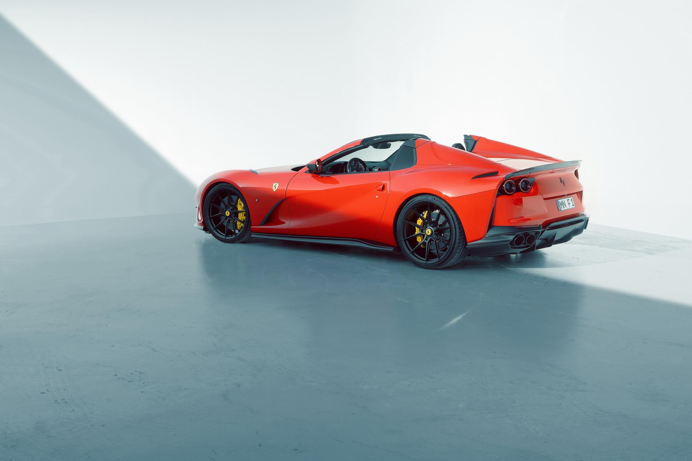 Novitec Ferrari 812 GTS red