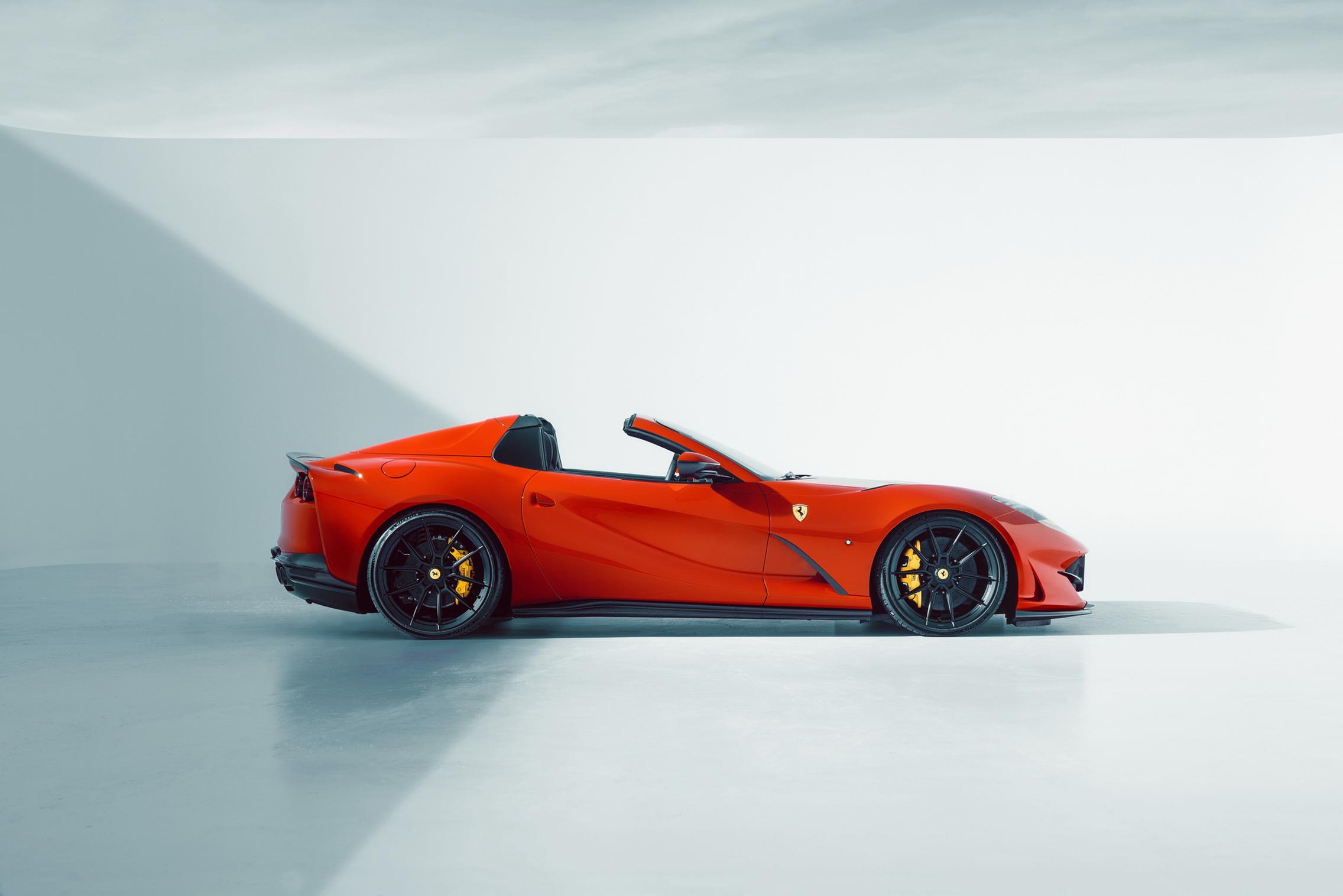 Novitec Ferrari 812 GTS roof down