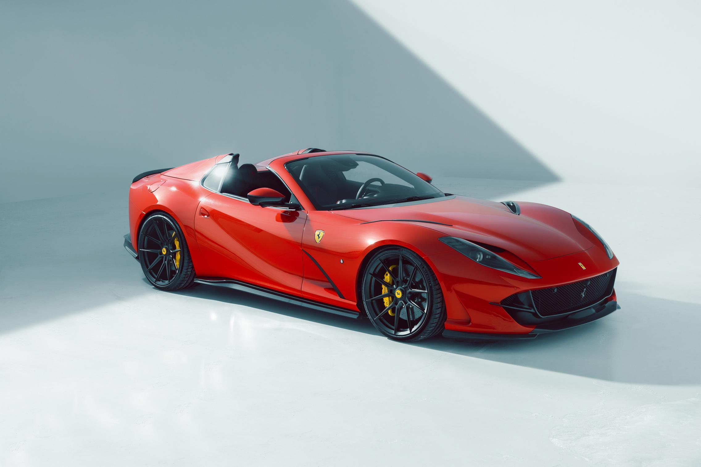Novitec Ferrari 812 GTS side