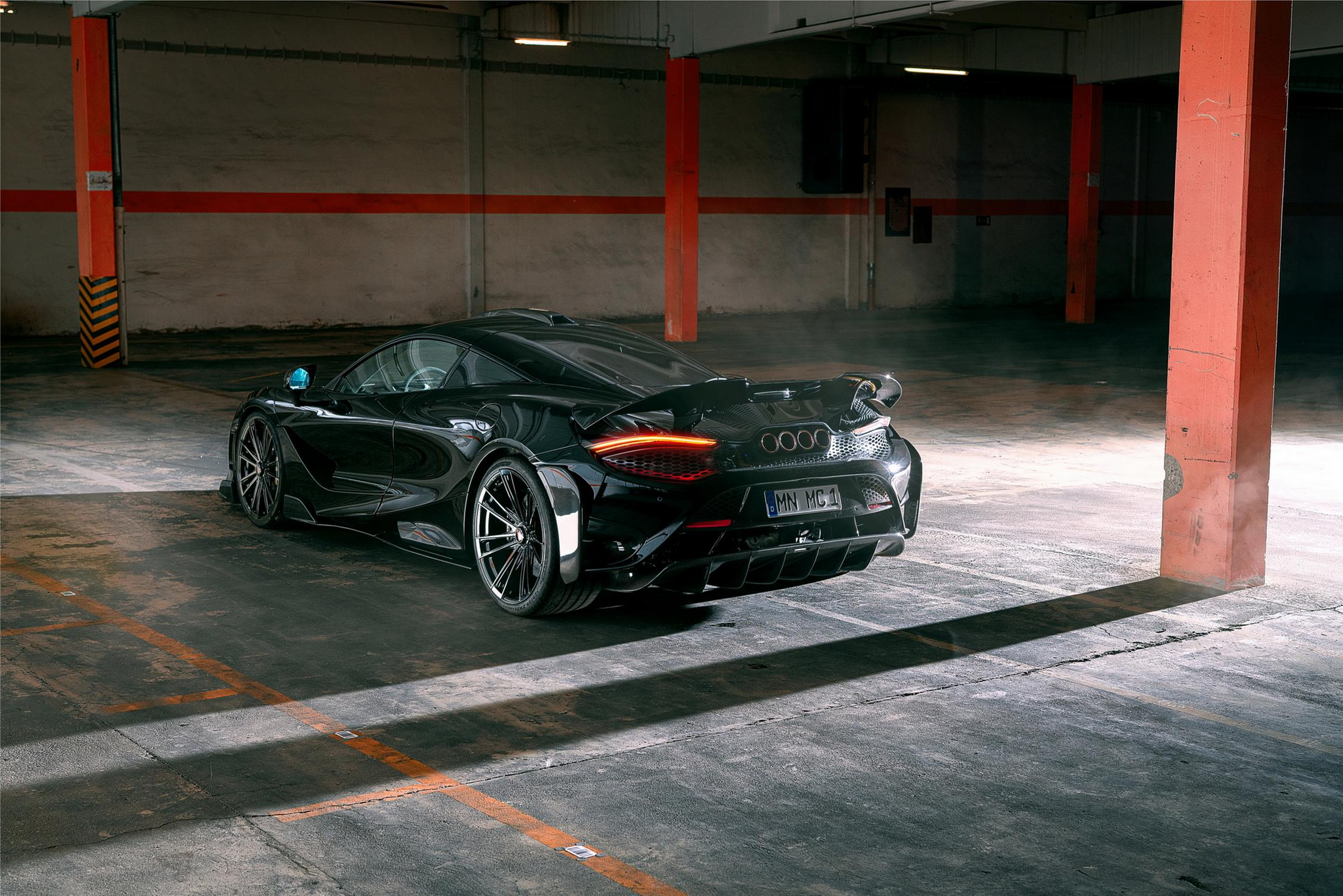 Novitec McLaren 765LT rear