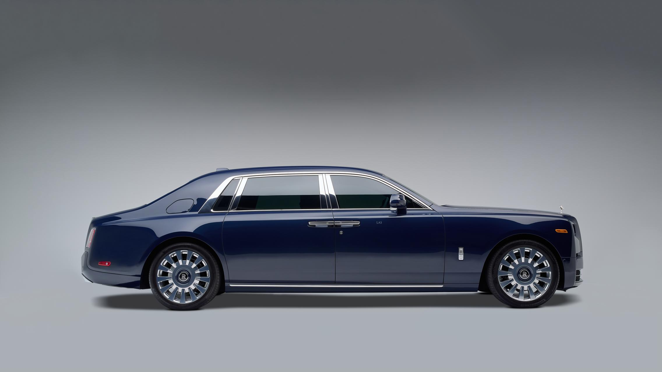 Rolls-Royce Phantom Side