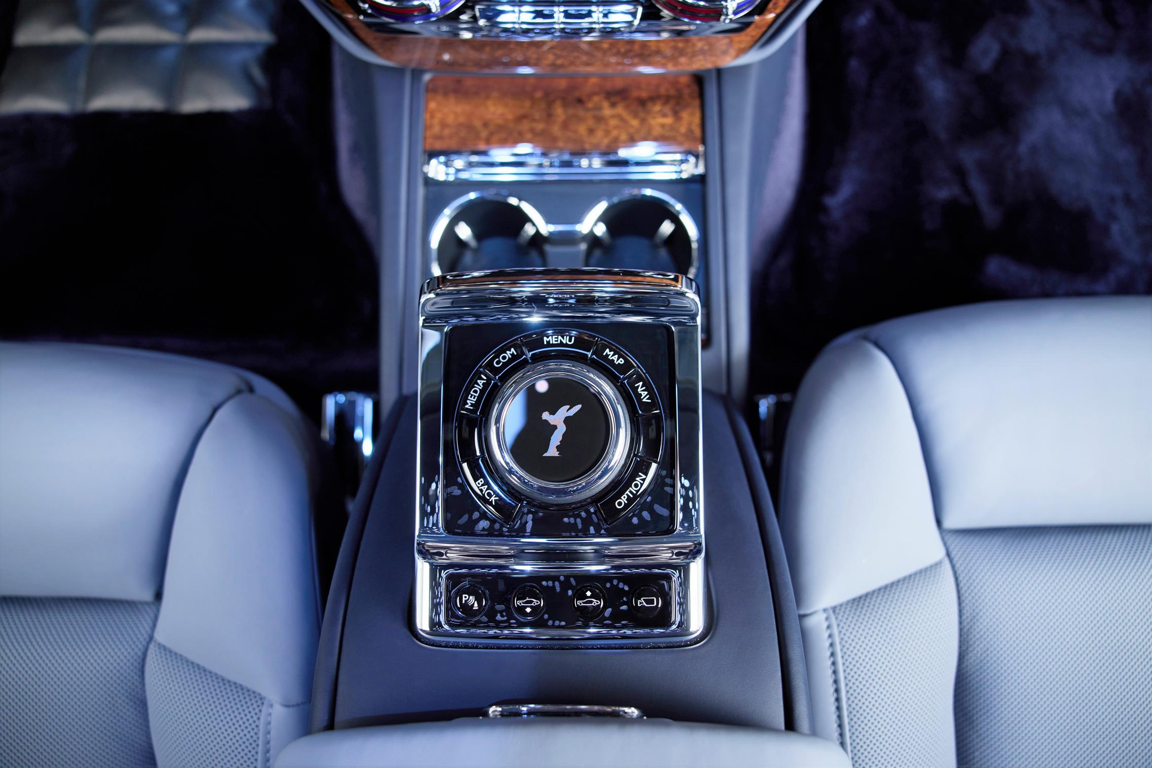 Rolls-Royce Phantom center console