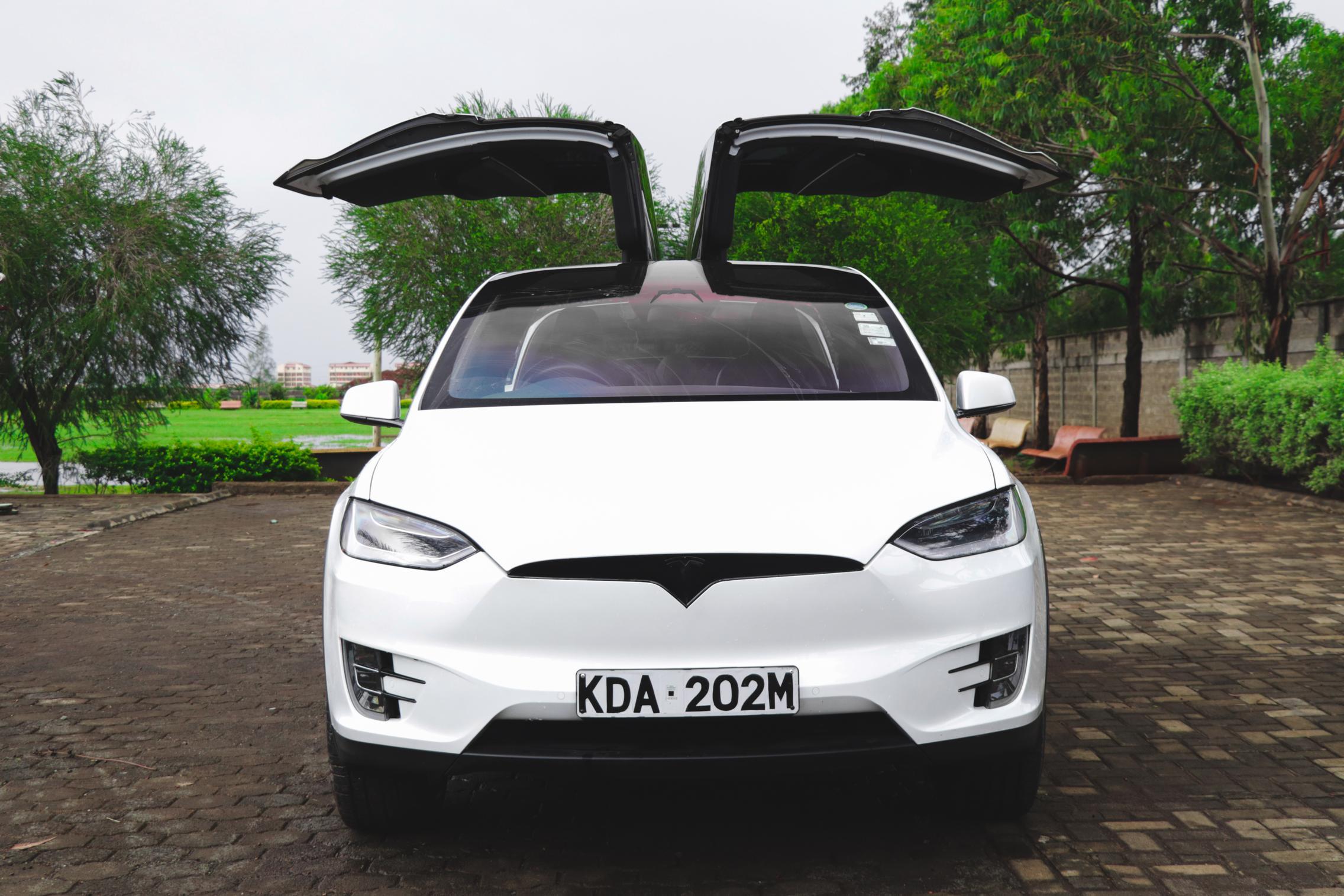 Telsa Model X front