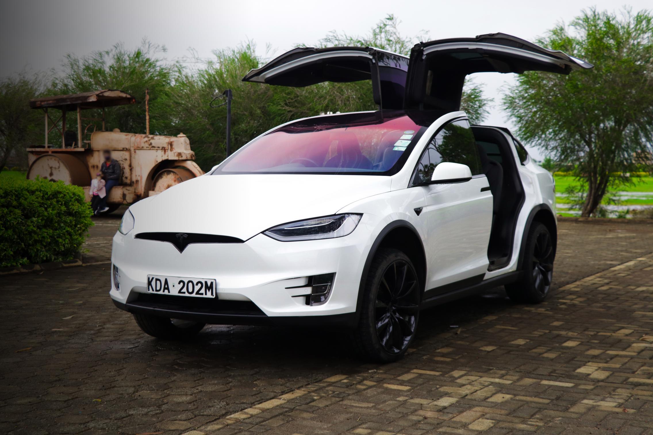 Telsa Model X in Kenya