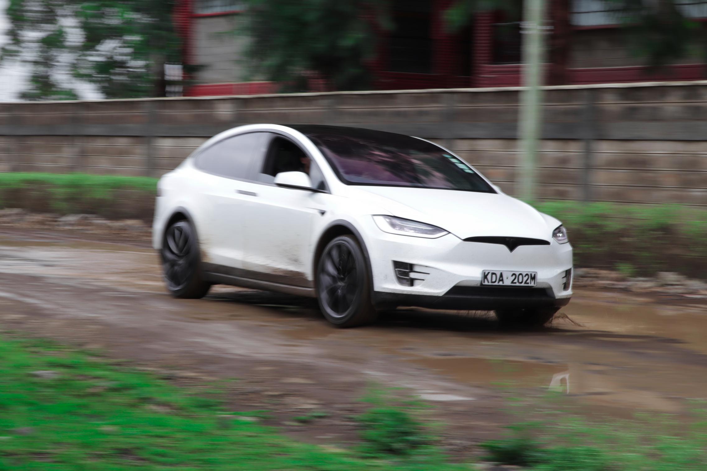Telsa Model X top speed