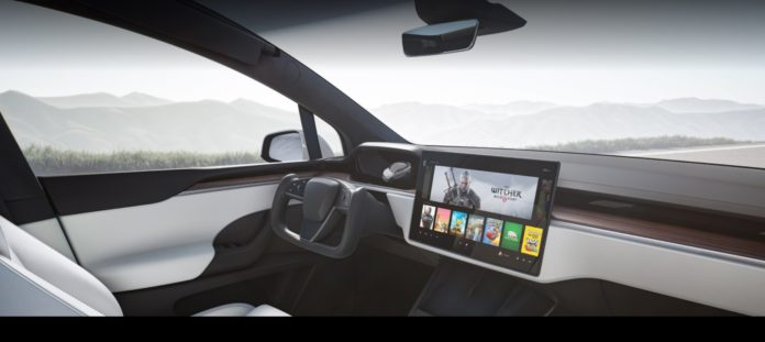 Tesla Model X Plaid Interior