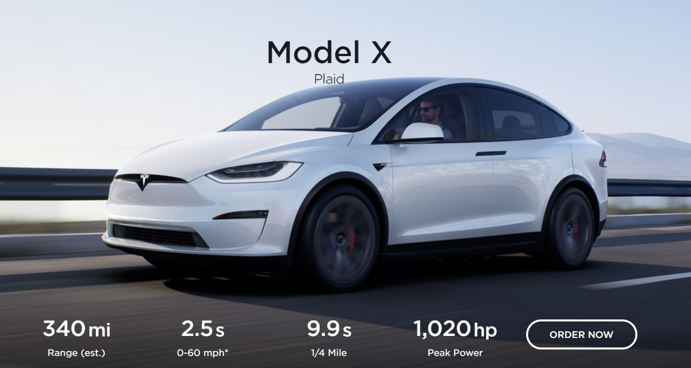 Tesla Model X Plaid: World's Most Powerful SUV Revealed (1020hp)
