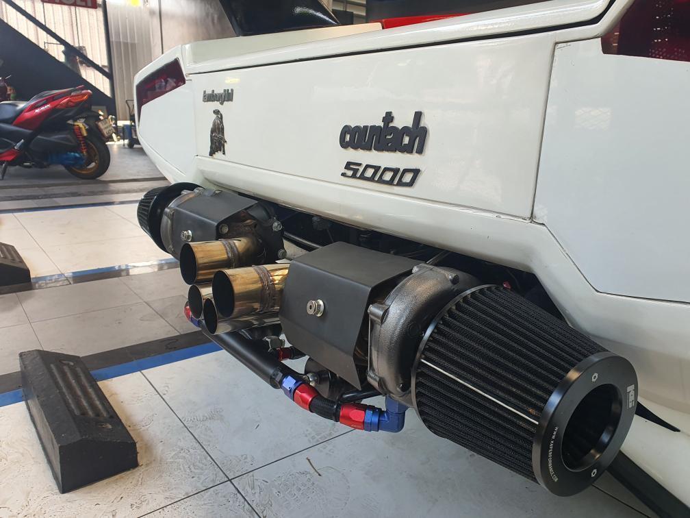 V8 air filters