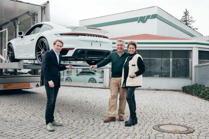 Porsche 992 Turbo S Gemballa
