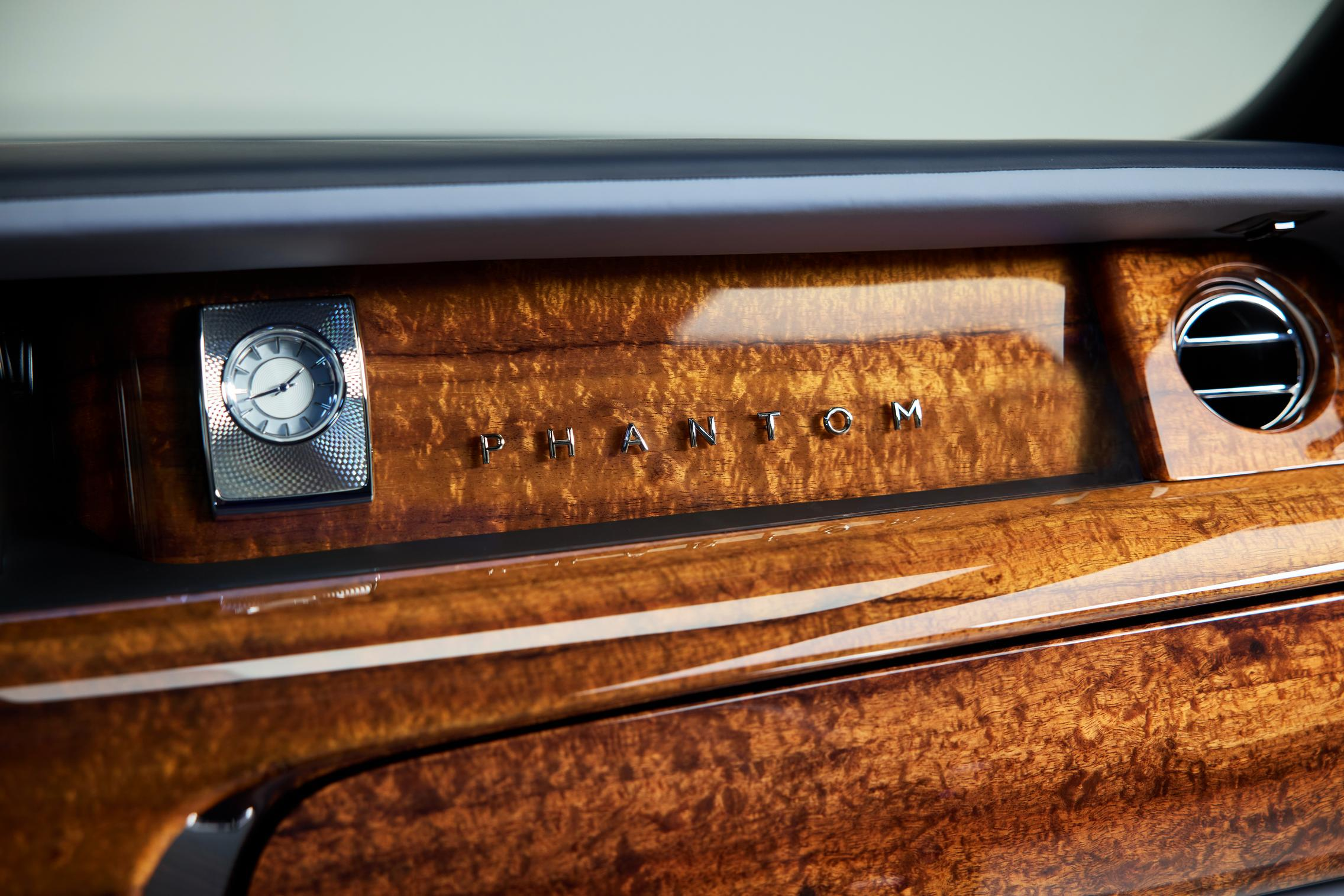 koa wood Rolls-Royce Phantom