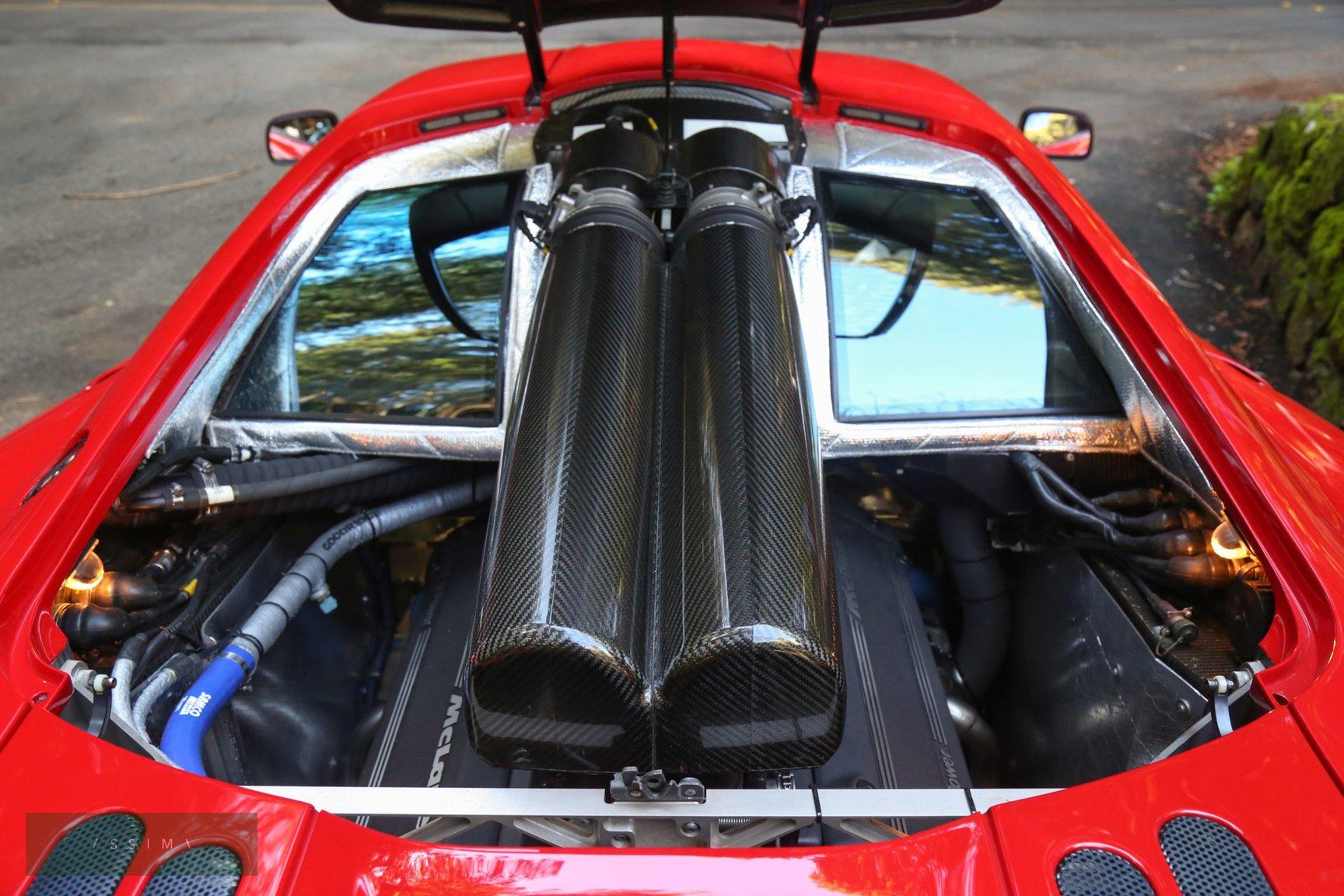1995 McLaren F1 engine carbon