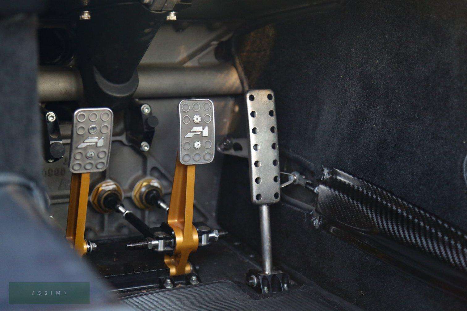 1995 McLaren F1 pedals