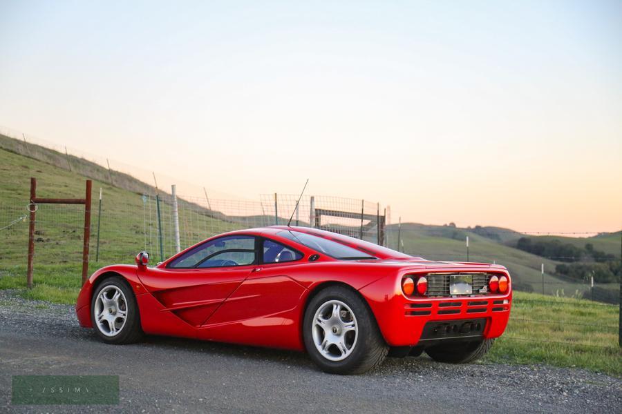 1995 McLaren F1 rear