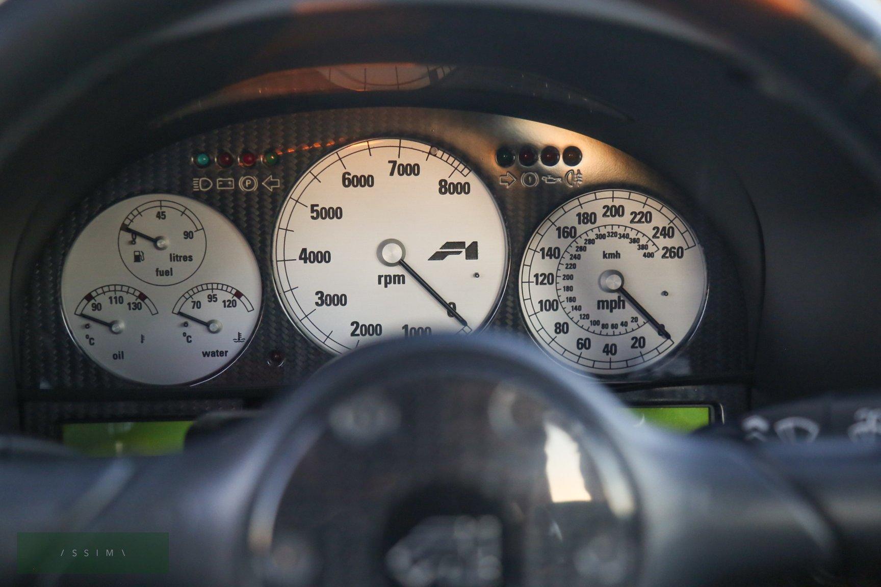 1995 McLaren F1 speedo