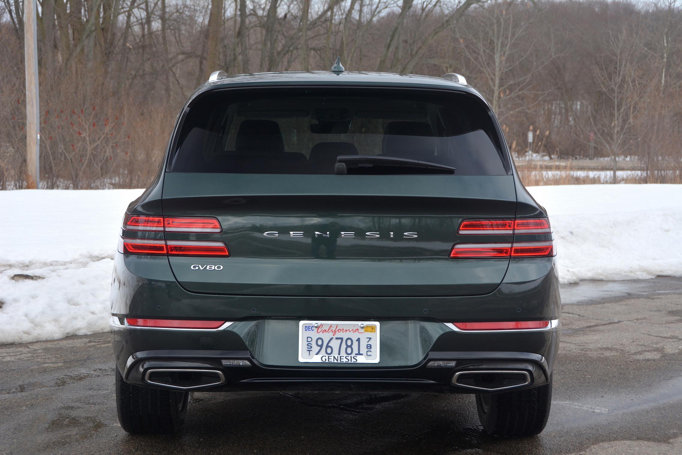 2021 Genesis GV80 rear lights