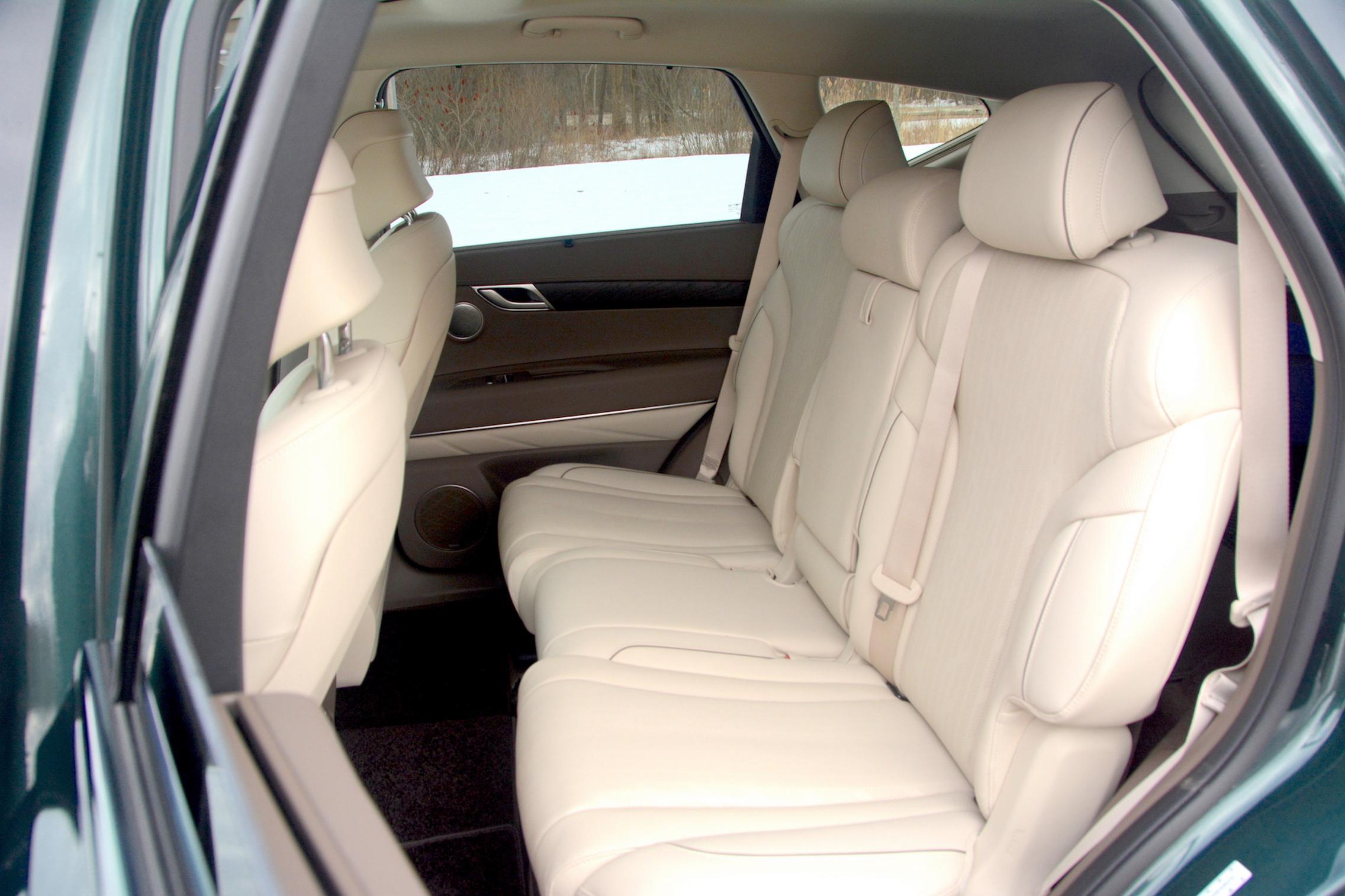 2021 Genesis GV80 rear seats