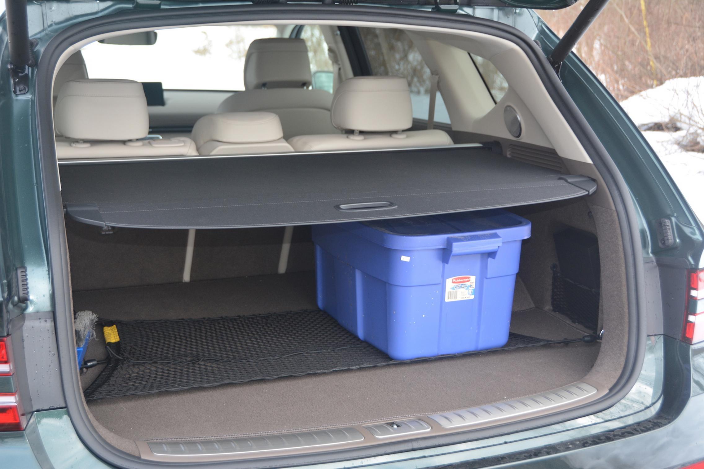 2021 Genesis GV80 trunk