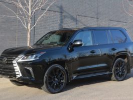 2021 Lexus LX570 review