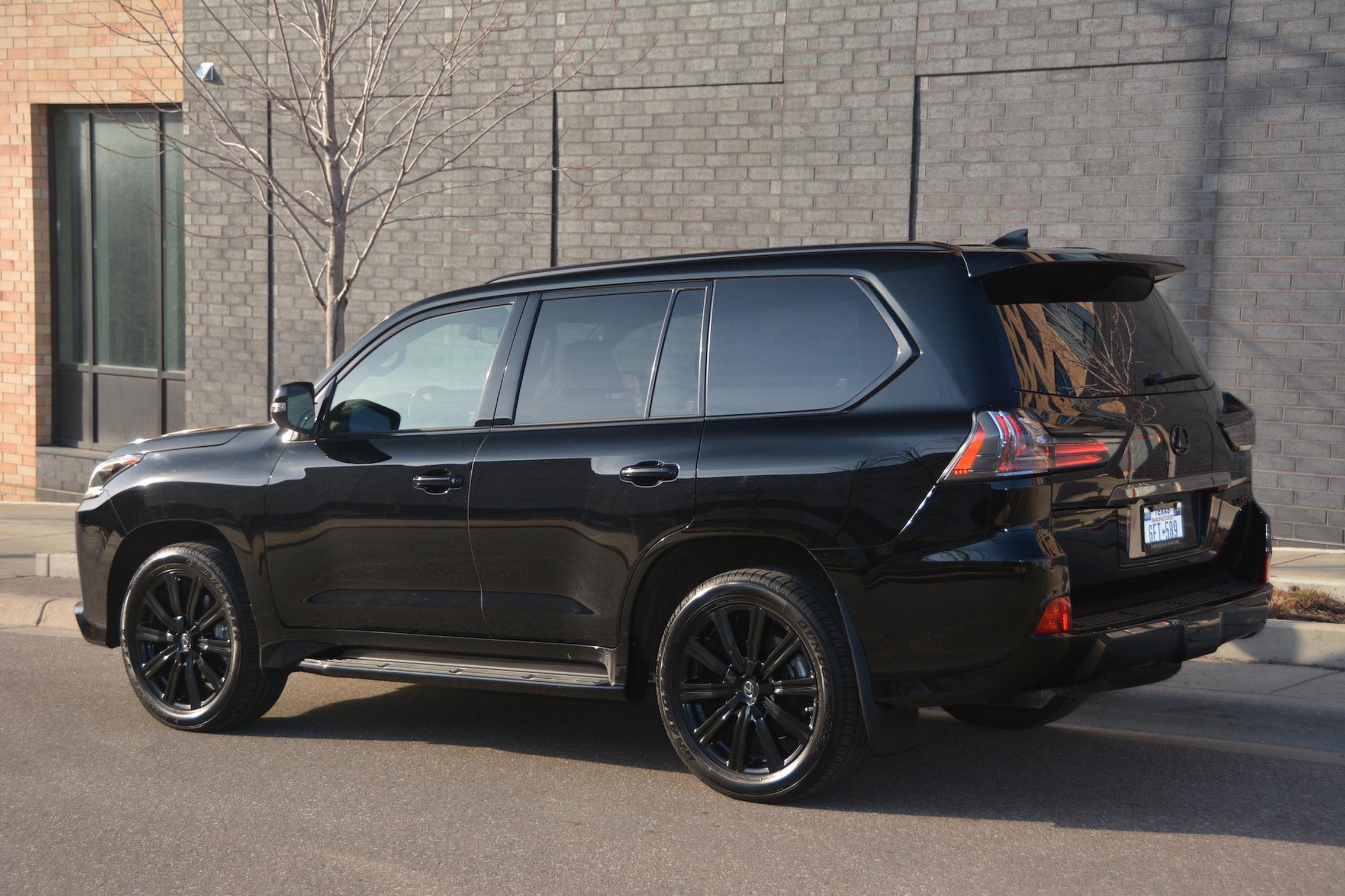 2021 Lexus LX570 specs
