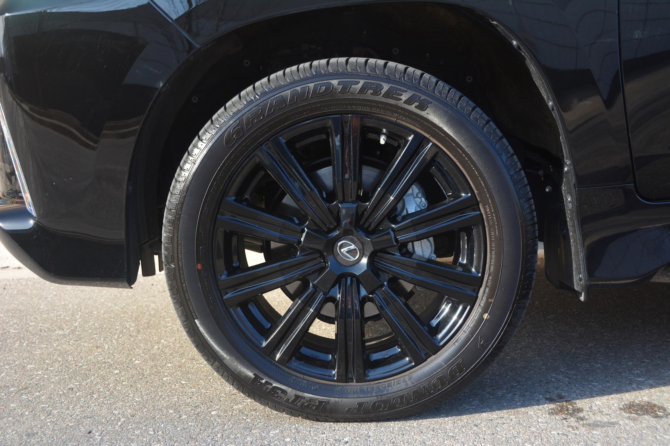 2021 Lexus LX570 wheels