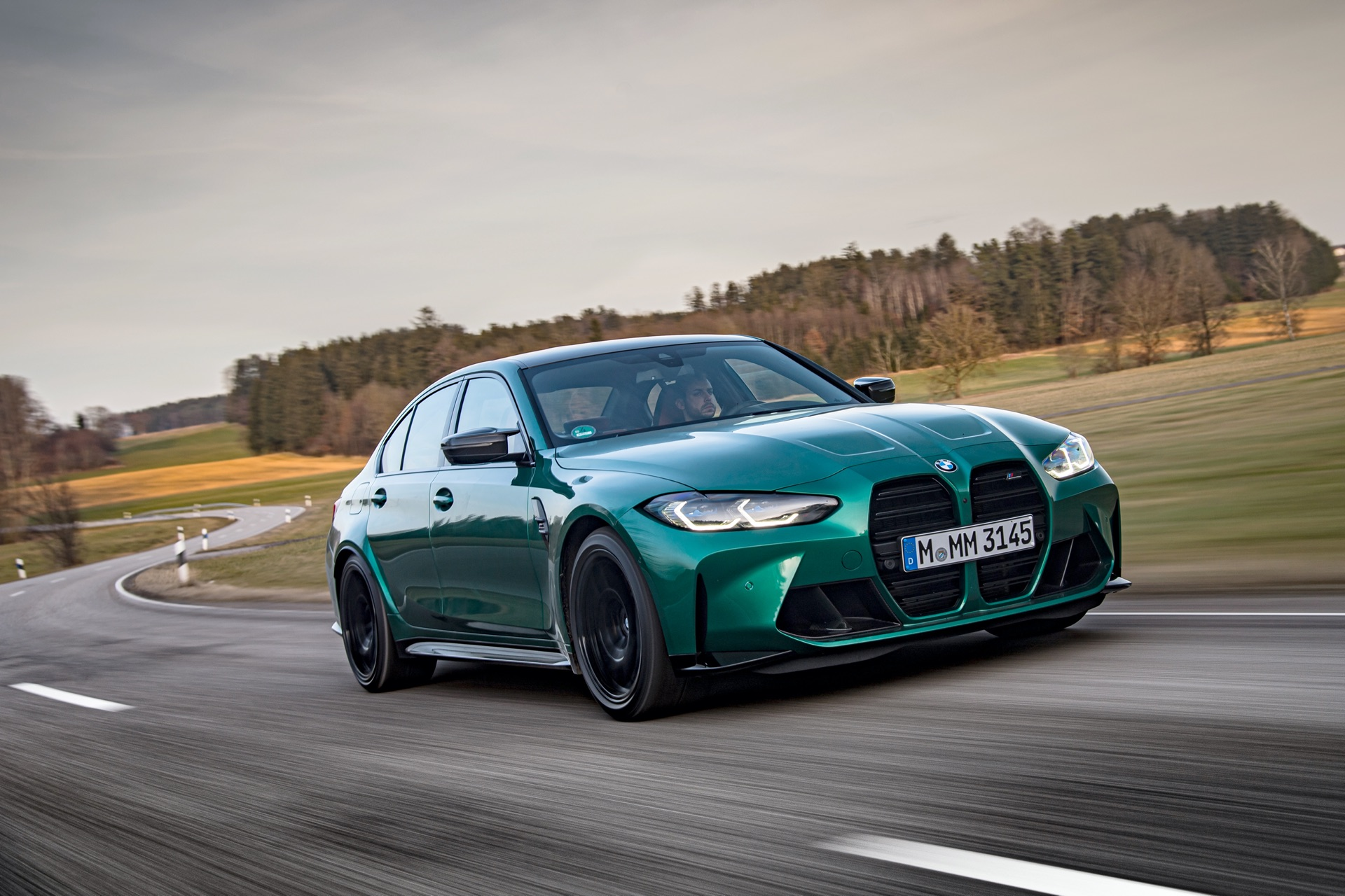 2022 BMW M3 Isle of Man Green 23