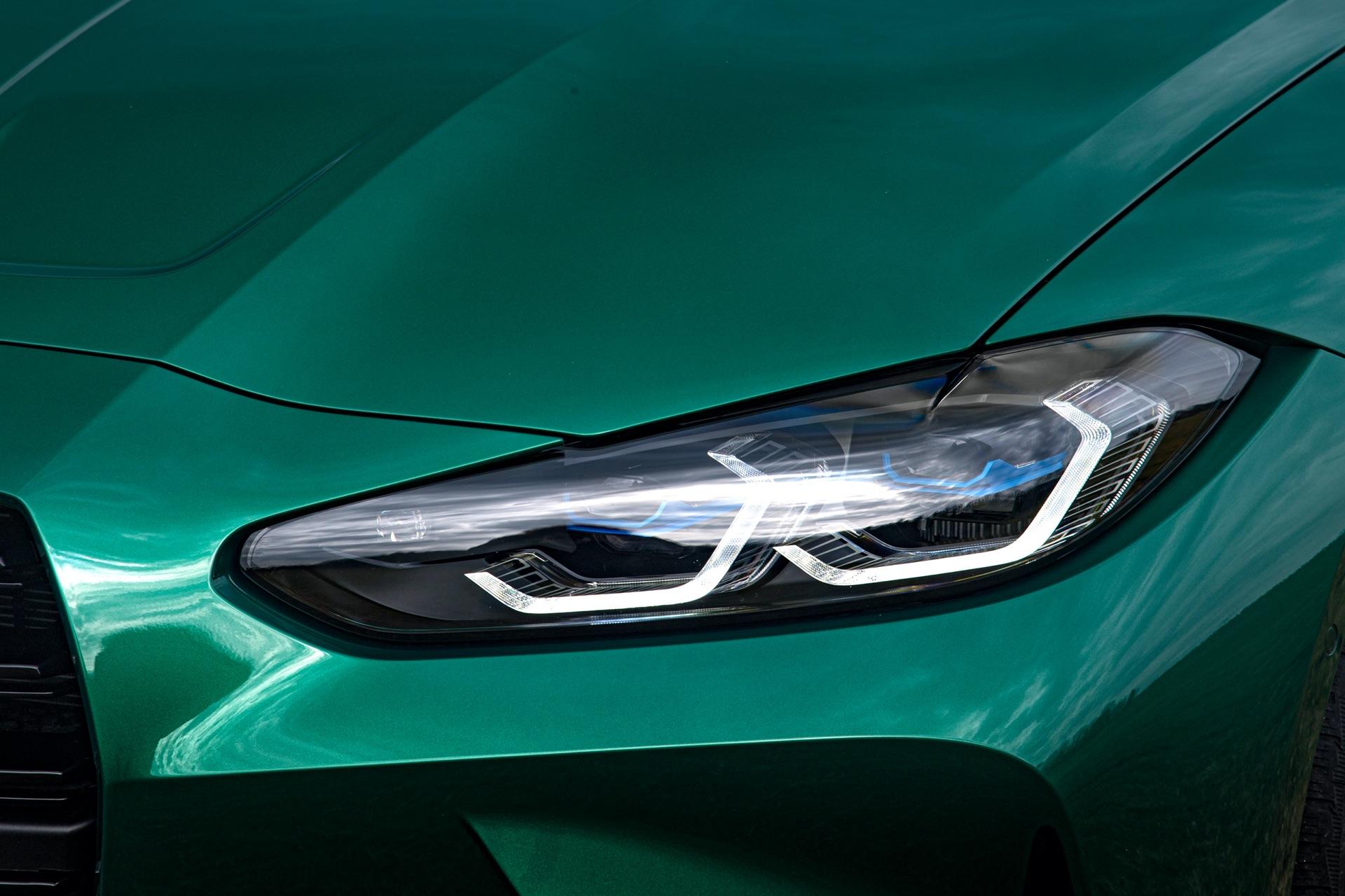 2022 BMW M3 headlight