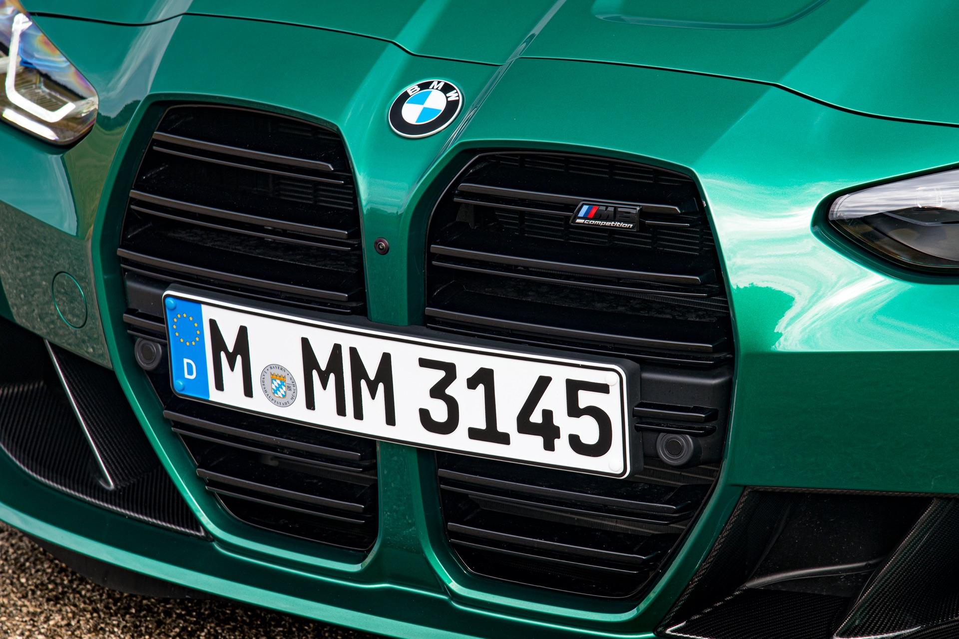 2022 BMW M3 Grille