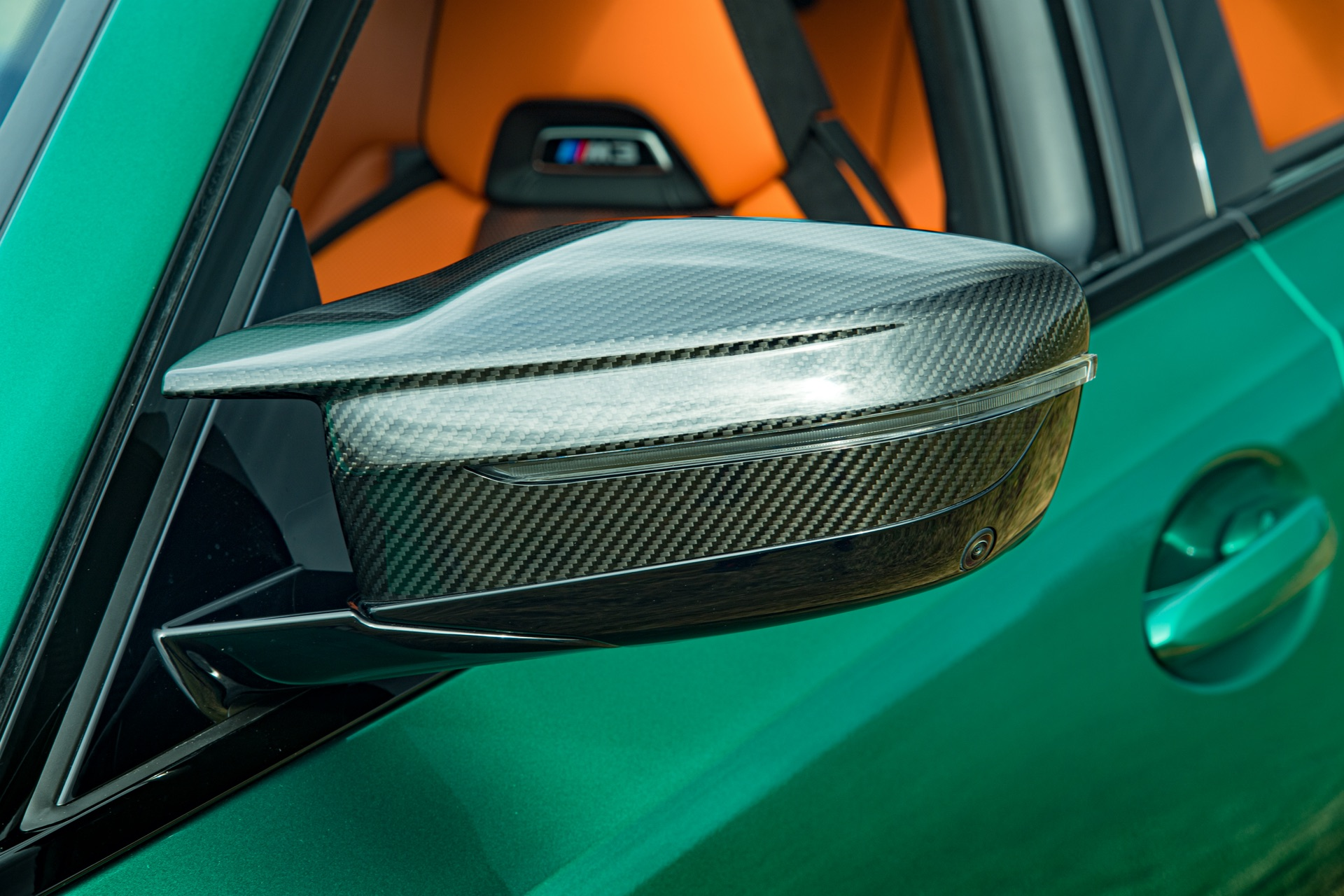2022 BMW M3 side mirror