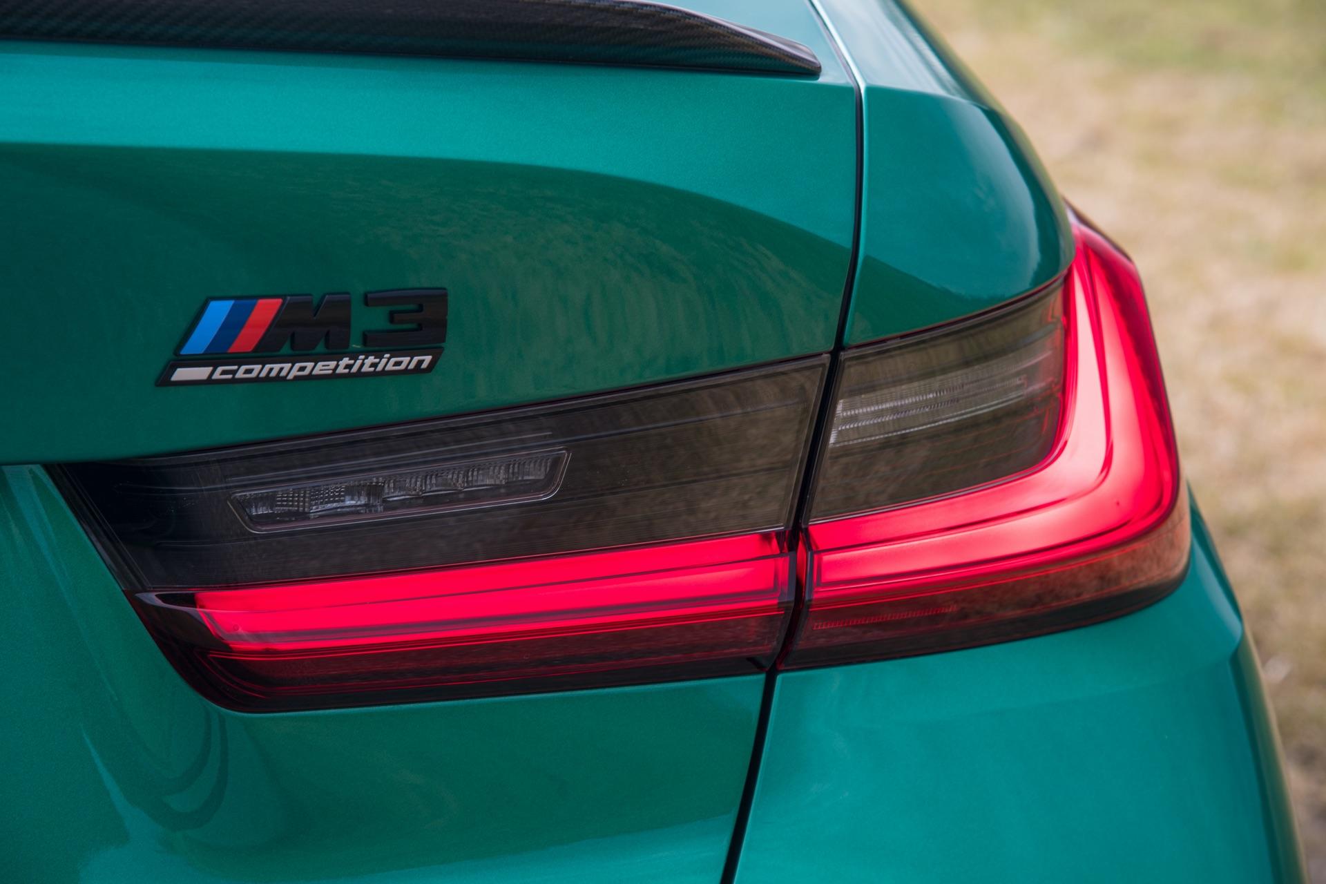 2022 BMW M3 rear light