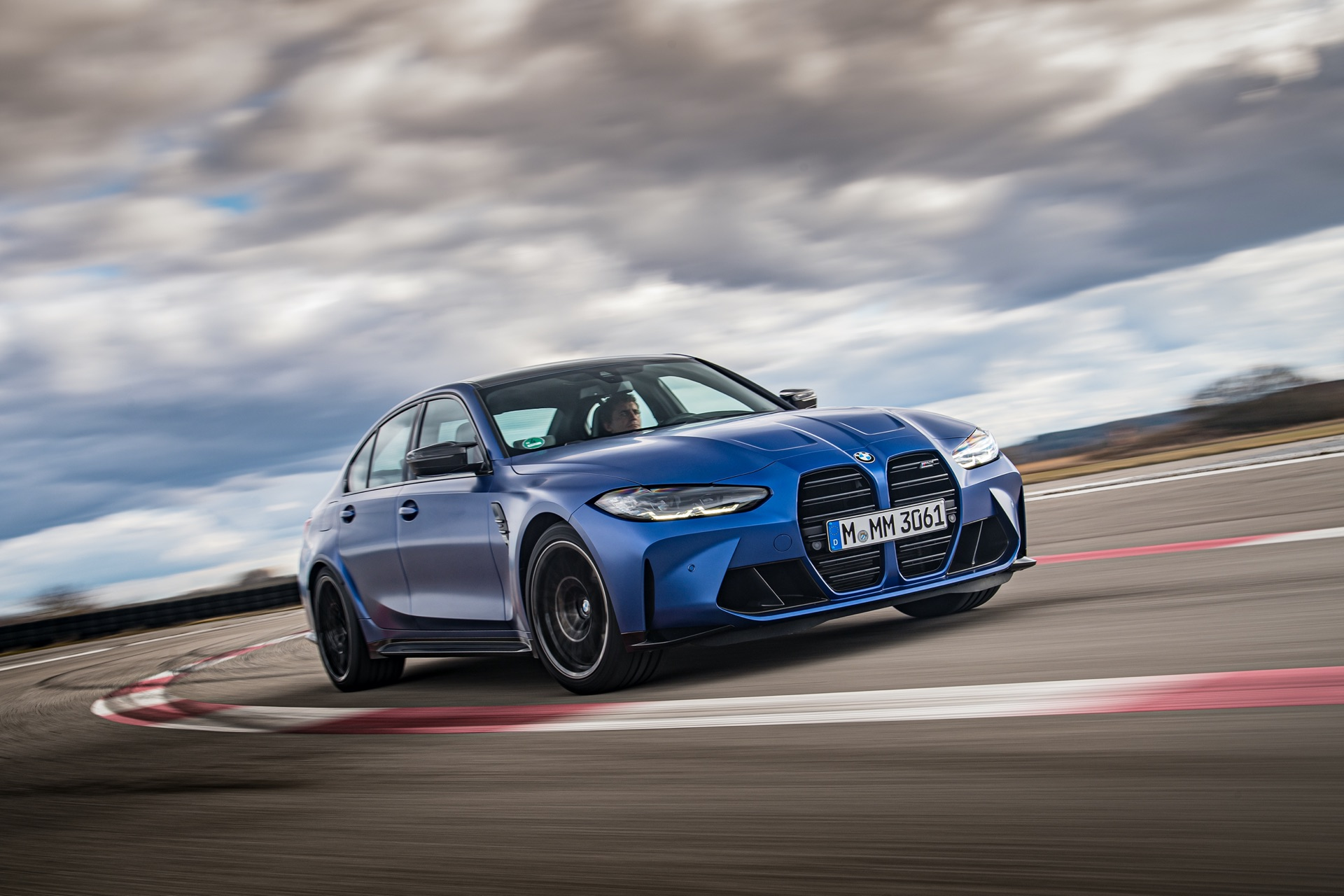 Portimao Blue BMW G80 M3 specs