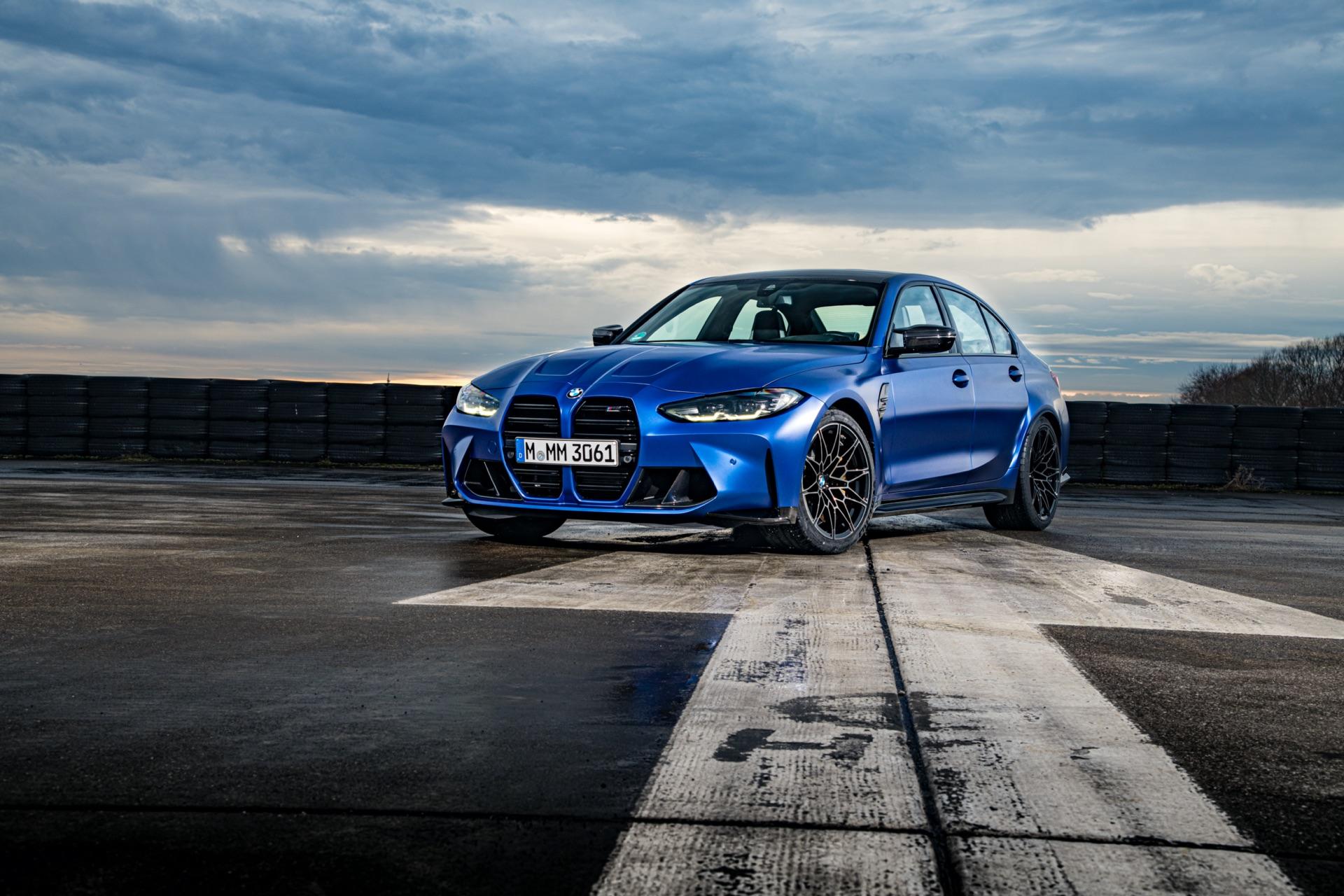 Portimao Blue BMW G80 M3 review