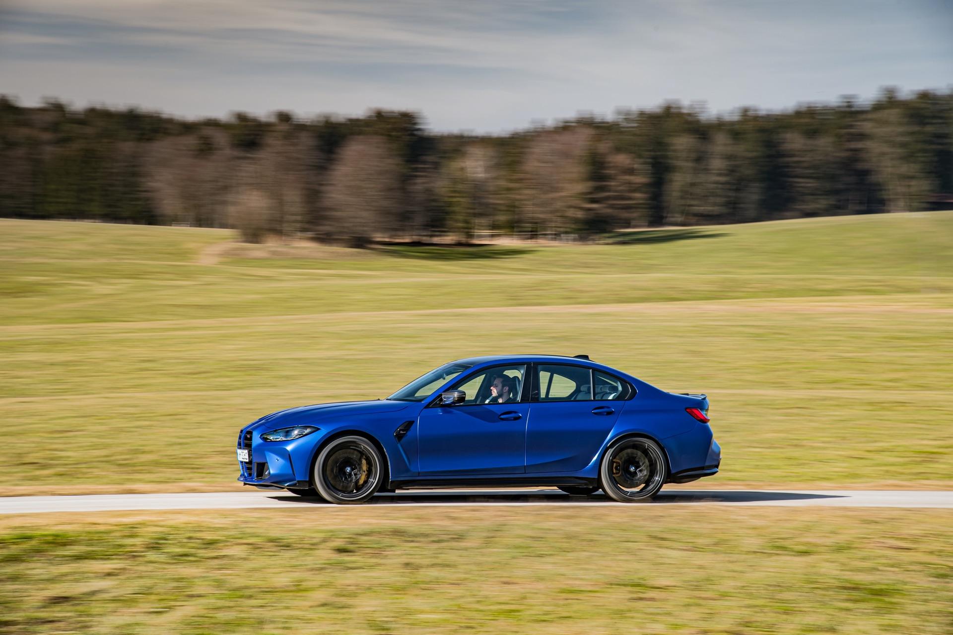 Portimao Blue BMW G80 M3 0-100