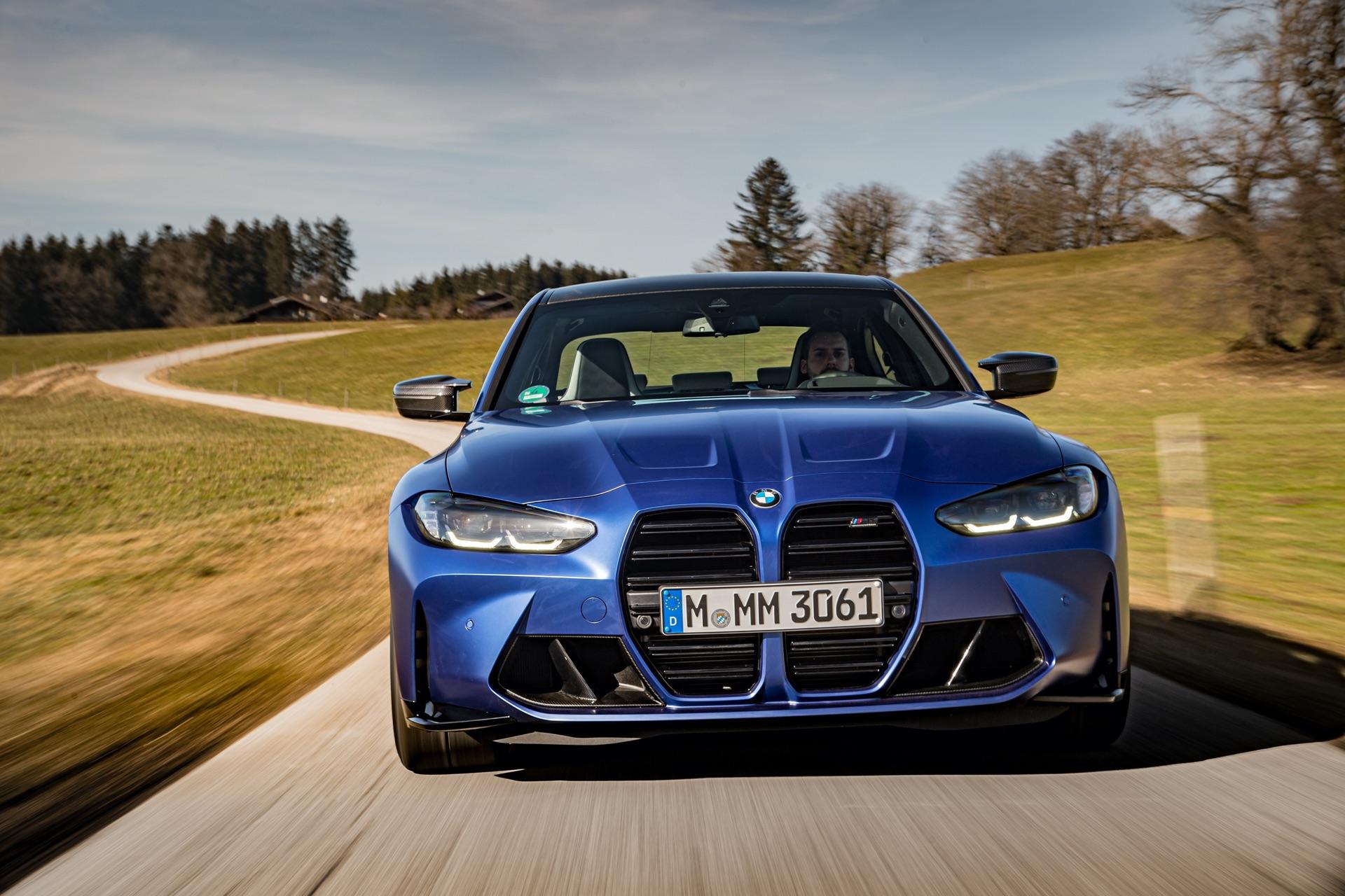 Portimao Blue BMW G80 M3